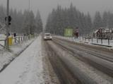 Află pe ce drumuri se circulă greu din cauza zăpezii