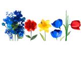 Google marchează echinocțiul de primăvară printr-un Doodle înflorat