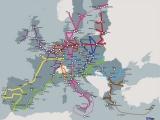 Harta celor 9 coridoare de transport pe conexiunile Est-Vest – publicată de Comisia Europeană