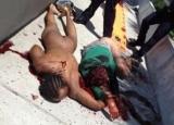Imagini şocante! Fotografii tulburătoare realizate la câteva minute după ce Canibalul din Miami şi-a devorat victima