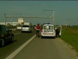 Judecător bătut de polițiști pe autostradă
