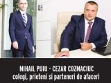 JUSTIȚIA, AFACERE DE FAMILIE: Soția, Mihaela Cozmaciuc, procuror; soțul Cezar Cosmaciuc, avocat
