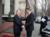 Klaus Iohannis a ajuns la Chișinău unde va avea o întrevedere cu omologul său Nicolae Timofti