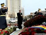 Klaus Iohannis a depus o coroană în amintirea victimelor Revoluției