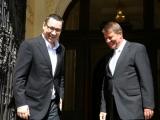 Klaus Iohannis și Victor Ponta participă împreună la bilanțul MApN pe 2014