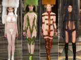 La cea mai scandaloasa prezentare de la London Fashion Week, modelele au defilat goale FOTO