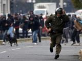 Lupte de stradă la Roma. Manifestanți contra jandarmi