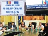 """""""Magicianul"""" Sorin Stănescu şi asistenţii săi: angajaţii ADS, ai Primăriei Chiajna şi Comisiei Judeţene de Fond Funciar Chiajna"""