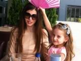 Monica Gabor își vede fetița după un an