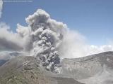 O nouă erupție vulcanică în Costa Rica. Fumul a ajuns până în capitală