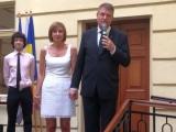 Petrecere la locuința soților Iohannis din Sibiu