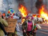 Proteste violente în Frankfurt: Protestatarii Blockupy au rănit 70 de polițiști