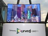 Samsung a adus in Romania televizoarele curbate Ultra HD