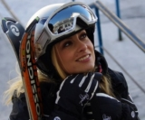 Simona Gherghe s-a relaxat pe pârtia de schi (poze)