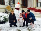 Traian Băsescu își distrează nepoțica