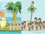 Vreți să trăiți pe insula Elenei Udrea sau pe cea a lui Victor Ponta?