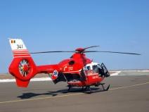 Imagini șocante, surprinse imediat după prăbușirea elicopterului SMURD