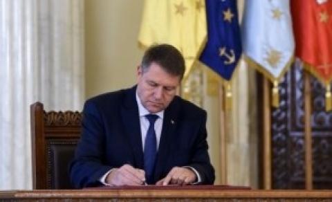 Klaus Iohannis a SEMNAT: încă una dintre legile justiți ...