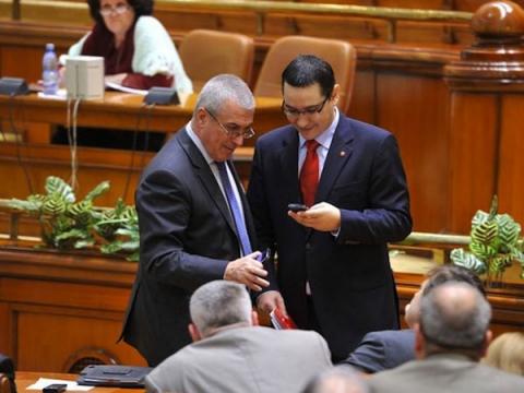 Ponta, blat cu Tăriceanu pentru suspendarea lui Băsescu