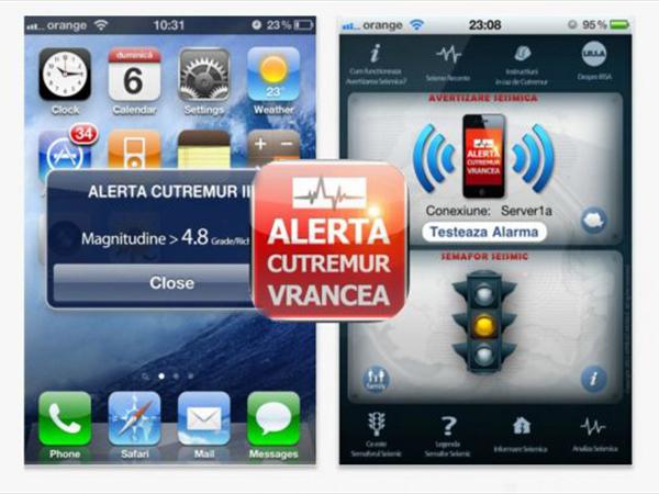 Alerta de cutremur pe telefonul mobil. Bucureștenii ar putea afla cu 30 se secunde înainte de producerea unui seism