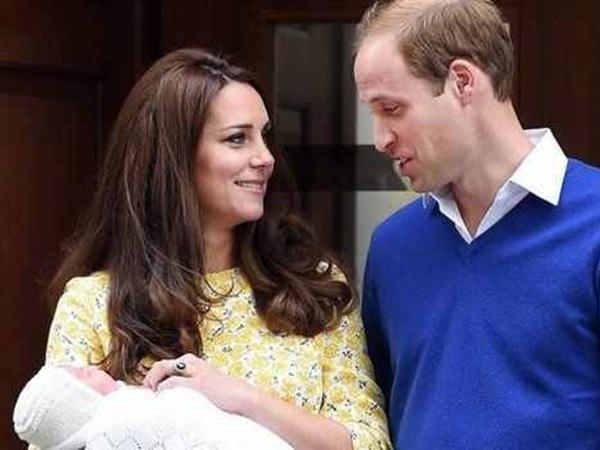 Fiica lui William și Kate va purta numele de Charlotte Elizabeth Diana