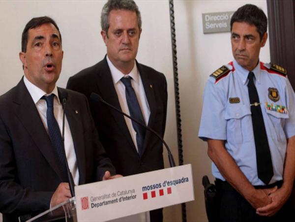 Tensiuni in Cataloniei: Seful politiei a fost demis